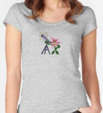 Stargazer Lilly Women's Fitted Scoop T-Shirt