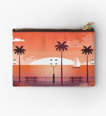 Sunset Landscape Studio Pouch