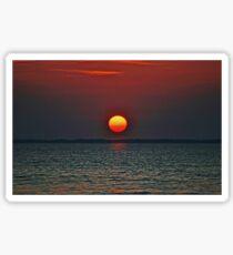 Montauk Sunset Sticker