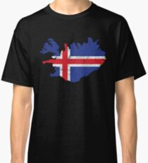 'Iceland' Cool Flag Iceland  Classic T-Shirt
