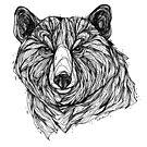 Schwarzbär von inkedinred
