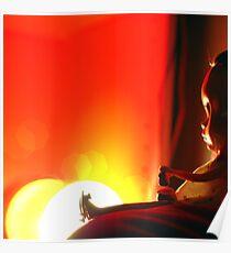 Tabatha en rouge Poster