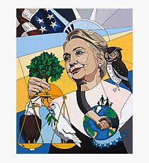 In Honor of Hillary Photographic Print