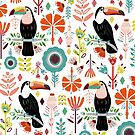 Colorful Toucans  by TigaTiga