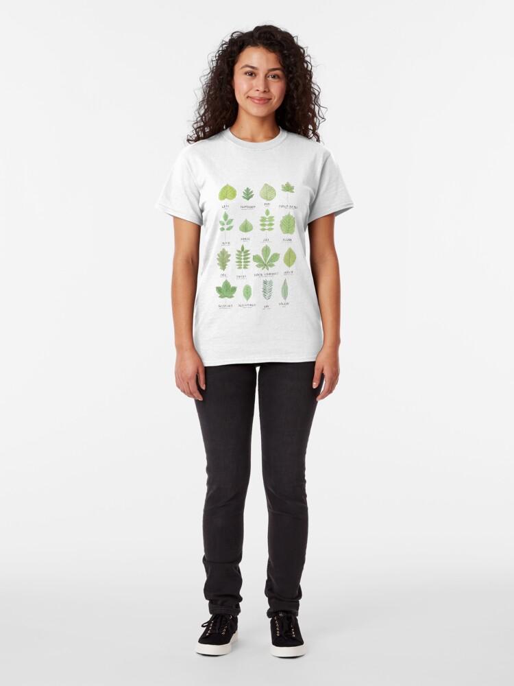 Alternate view of Leaf ID Chart Classic T-Shirt