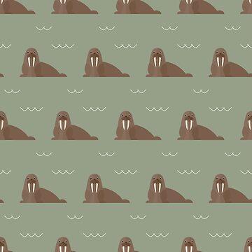 Walrus party by reneesillus