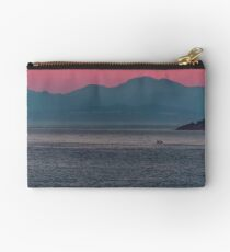 Sunrise at the Amalfi Coast of Italy Studio Pouch