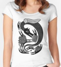 And the dragon Fitted Scoop T-Shirt