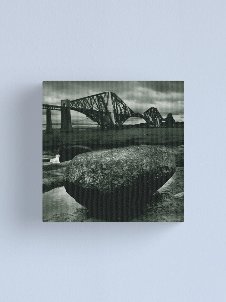 Alternate view of Big Rock Big Bridge Canvas Print
