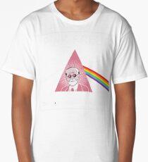 Camiseta larga Pink Freud La camisa del lado oscuro de tu mamá