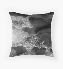 Bruar - Luminescent Ice Deltas Throw Pillow