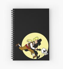The Adventures of Guybrush Spiral Notebook
