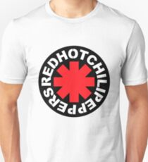 Red Hot Chilli Peppers Rock Band Merchandise Stickers Hoodies Shirts Phone cases Posters Bags Laptop sleeves Unisex T-Shirt