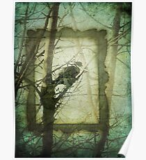 Bird in a Tree Poster