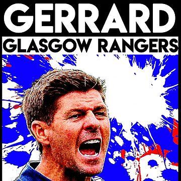 Glasgow Rangers Steven Gerrard by trueblueapparel