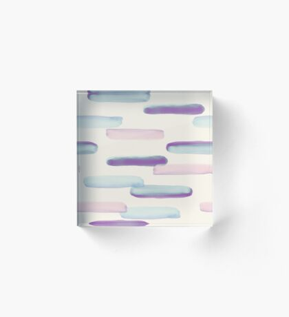 Steps #redbubble #abstractart Acrylic Block