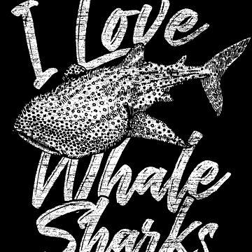 Whale shark lovers by GeschenkIdee