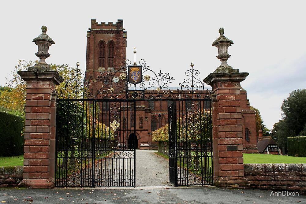 St. Mary's Church, Village of Eccleston, Nr. Chester UK by AnnDixon