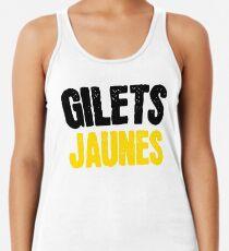 Camiseta de tirantes para mujer Chalecos Jaunes