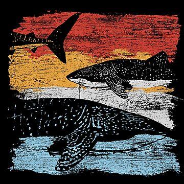 Whale shark fish by GeschenkIdee