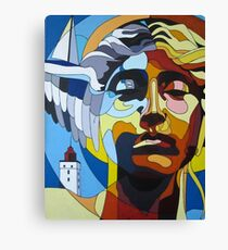 Hypnos - with hidden pictures Canvas Print