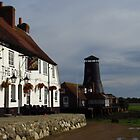 The Royal Oak and Langstone Mill by wiggyofipswich
