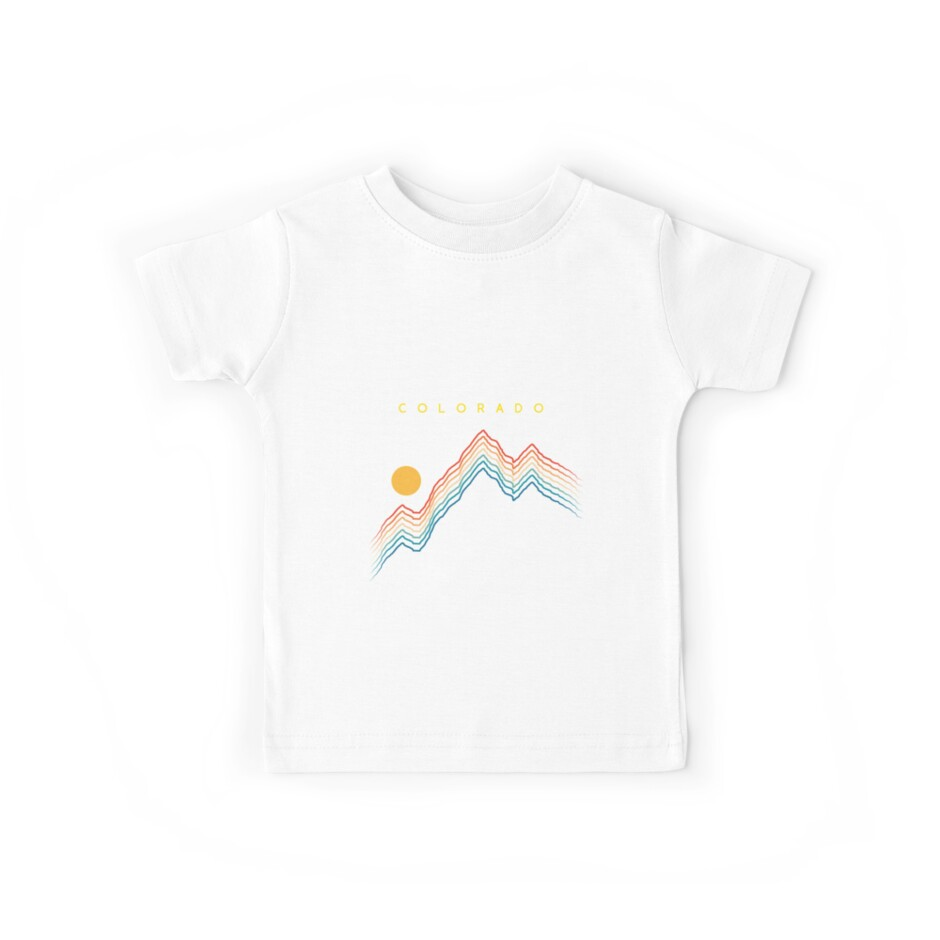Colorado Aspen - USA Ski Resort 1980er Jahre Retro Kollektion Shirt von pacomerch