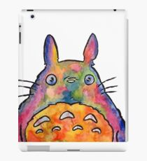 Cute Colorful Totoro! Tshirts + more! Jonny2may iPad Case/Skin