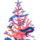 Christmas Coral by Danelle Malan