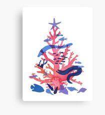 Weihnachtskoralle Leinwanddruck