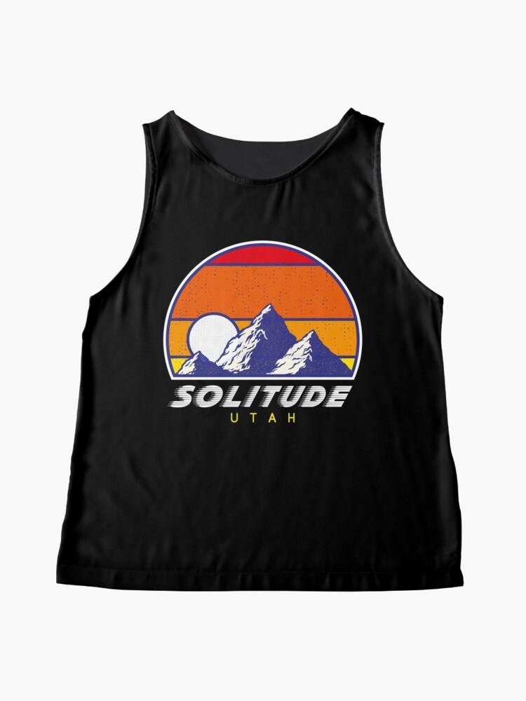 Alternative Ansicht von Einsamkeit Utah - USA Ski Resort 1980er Jahre Retro Kollektion Shirt Ärmelloses Top