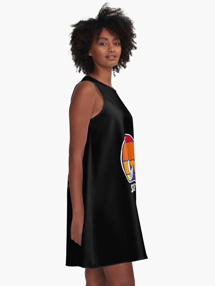 Alternative Ansicht von Einsamkeit Utah - USA Ski Resort 1980er Jahre Retro Kollektion Shirt A-Linien Kleid
