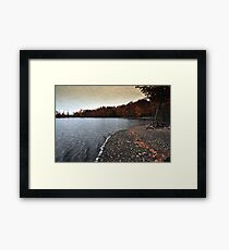 New York's Salmon river reservoir  IV Framed Print