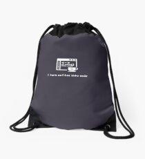Programming Memes Drawstring Bag