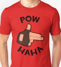 POW! HAHA Unisex T-Shirt