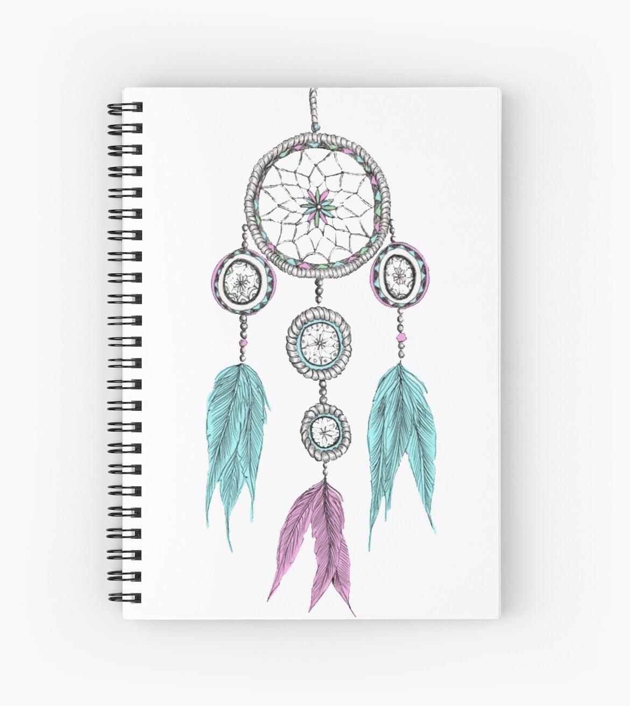 Tumblr Dreamcatcher Spiral Notebooks By Jays Designs