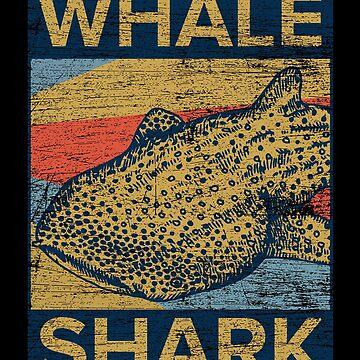 Whale shark shark fin by GeschenkIdee