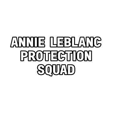 Annie Leblanc Protection Squad by amandamedeiros