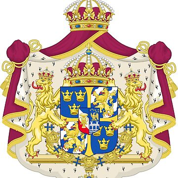 Greater Coat of Arms of the Kingdom of Sweden by mullelito