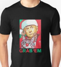 Donald Trump Grab 'em by the Pussy Christmas Unisex T-Shirt