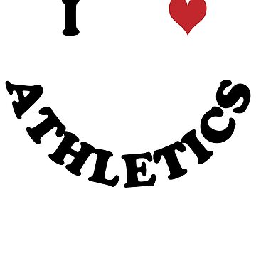 I love athletics by Vectorqueen