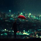 Rainy Days by baxiaart