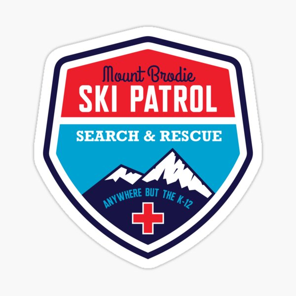 Mount Brodie Ski Patrol Sticker