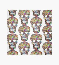 Colorful Skull  Scarf
