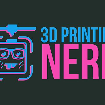 3D Printing Nerd 3D Printer Filament Pink Blue - Gift Idea by vicoli-shirts