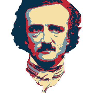 Edgar Allan Poe Pop Art by idaspark