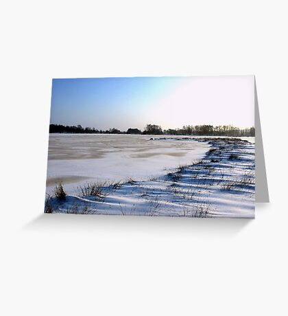 Cold and Ice Greeting Card