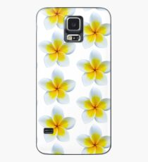Yellow Plumeria All Over Case/Skin for Samsung Galaxy