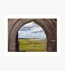 From The Castle Window Art Print