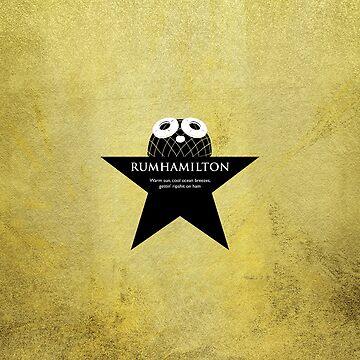 Rum Ham plus Hamilton -> Rumhamilton by eldram
